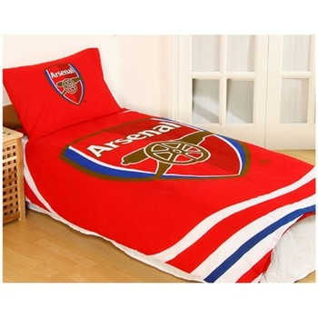 Home Bettbezug Arsenal Fc Taille Unique Rot