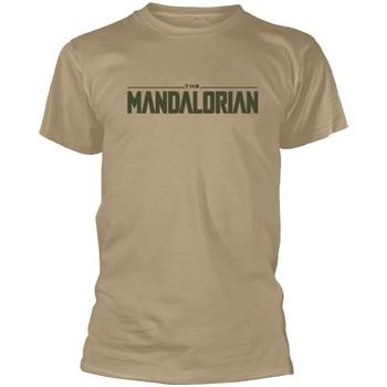 Kleidung T-Shirts Star Wars: The Mandalorian  Beige