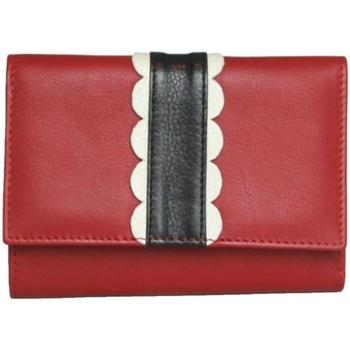 Taschen Damen Portemonnaie Eastern Counties Leather  Rot/Schwarz