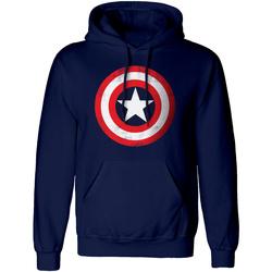 Kleidung Sweatshirts Captain America  Rot