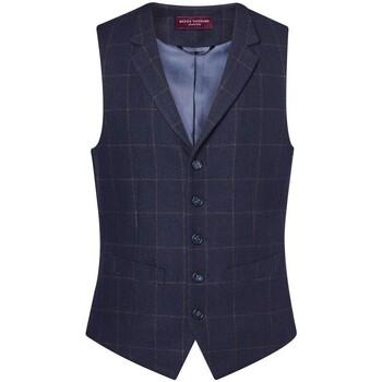 Kleidung Herren Anzugweste Brook Taverner BR180 Blau