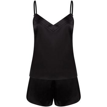 Kleidung Damen Pyjamas/ Nachthemden Towel City TC057 Schwarz