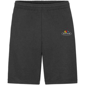 Kleidung Herren Shorts / Bermudas Fruit Of The Loom SS07R Schwarz