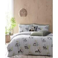Home Bettbezug Furn Double Grün