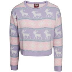 Kleidung Damen Sweatshirts Christmas Shop  Pink/Violett