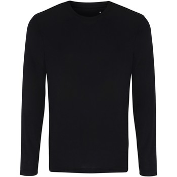 Kleidung Herren Langarmshirts Tridri TR050 Schwarz
