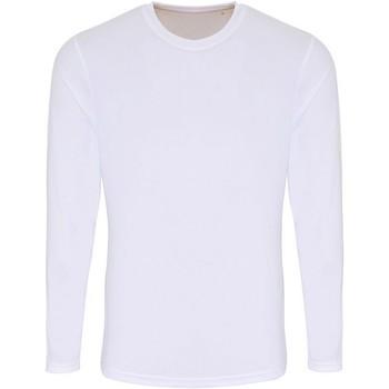 Kleidung Herren Langarmshirts Tridri TR050 Weiß