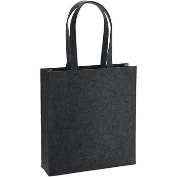 Taschen Umhängetaschen Bagbase BG723 Anthrazit meliert