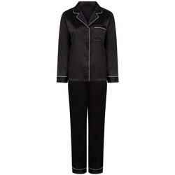 Kleidung Damen Pyjamas/ Nachthemden Towel City TC055 Schwarz