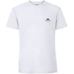 Kleidung T-Shirts & Poloshirts Fruit Of The Loom SS02R Weiß