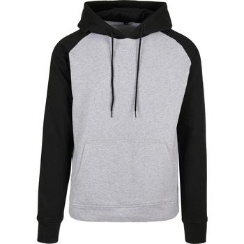 Kleidung Herren Sweatshirts Build Your Brand BB005 Schwarz
