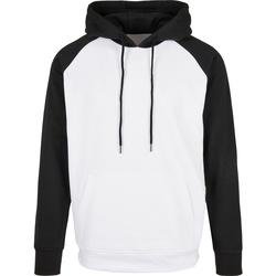 Kleidung Herren Sweatshirts Build Your Brand BB005 Weiß/Schwarz