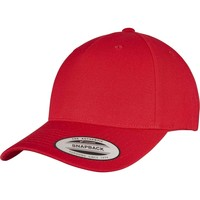 Accessoires Schirmmütze Yupoong YP158 Rot