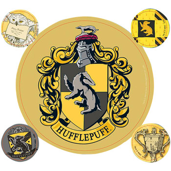 Home Stickers Harry Potter Taille unique Gelb