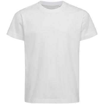 Kleidung Kinder T-Shirts & Poloshirts Stedman Stars  Weiß