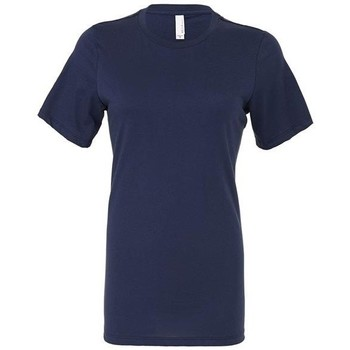 Kleidung Damen T-Shirts & Poloshirts Bella + Canvas BE6400 Marineblau