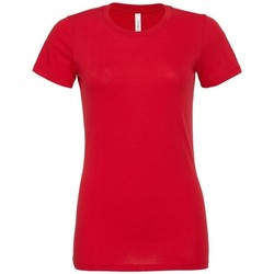 Kleidung Damen T-Shirts & Poloshirts Bella + Canvas BE6400 Rot