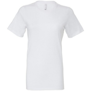 Kleidung Damen T-Shirts & Poloshirts Bella + Canvas BE6400 Weiß