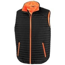 Kleidung Strickjacken Result R239X Schwarz/Orange