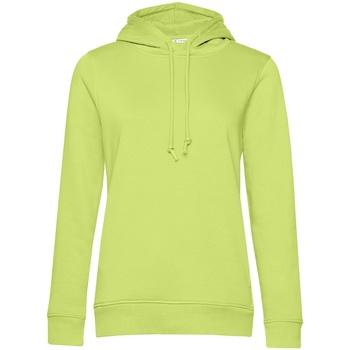 Kleidung Damen Sweatshirts B&c WW34B Limettengrün