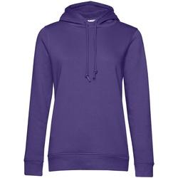 Kleidung Damen Sweatshirts B&c WW34B Violett