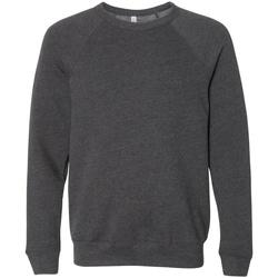 Kleidung Sweatshirts Bella + Canvas CA3901 Dunkelgrau meliert