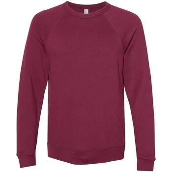 Kleidung Sweatshirts Bella + Canvas CA3901 Weinrot