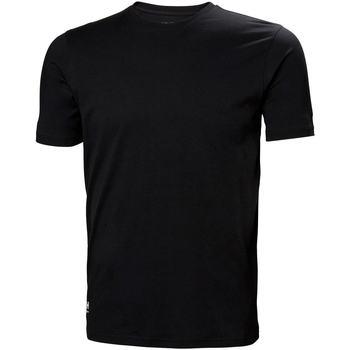 Kleidung Herren T-Shirts & Poloshirts Helly Hansen 79161 Schwarz