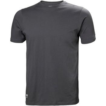 Kleidung Herren T-Shirts & Poloshirts Helly Hansen 79161 Dunkelgrau