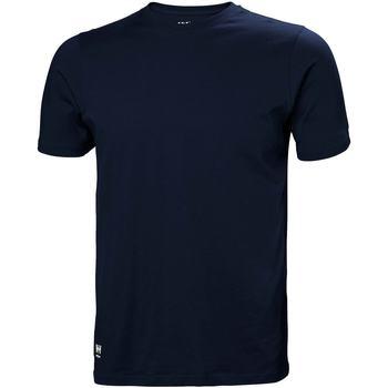 Kleidung Herren T-Shirts & Poloshirts Helly Hansen 79161 Marineblau