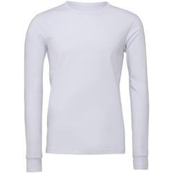 Kleidung Langarmshirts Bella + Canvas CA3501 Weiß