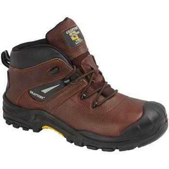 Schuhe Herren Stiefel Grafters  Braun