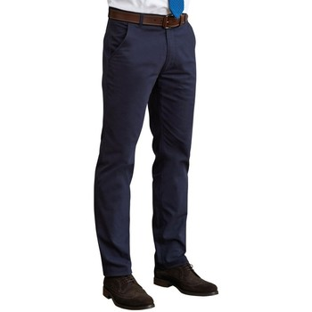 Kleidung Herren Hosen Brook Taverner BR160 Marineblau