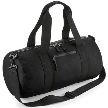 Taschen Sporttaschen Bagbase BG284 Schwarz