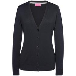 Kleidung Damen Strickjacken Brook Taverner BK554 Schwarz