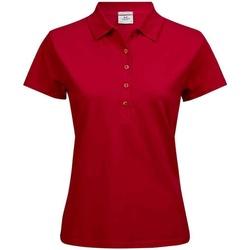 Kleidung Damen Polohemden Tee Jays T145 Rot