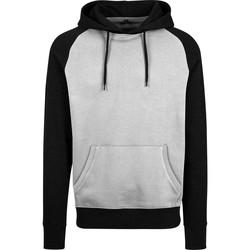 Kleidung Herren Sweatshirts Build Your Brand BY077 Grau/Schwarz