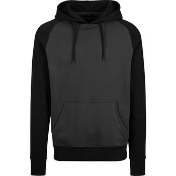 Kleidung Herren Sweatshirts Build Your Brand BY077 Graphit/Schwarz