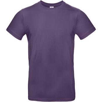 Kleidung Herren T-Shirts B And C BA220 Violett