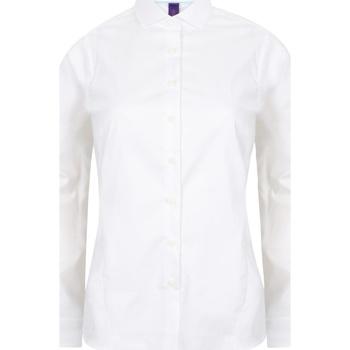 Kleidung Damen Hemden Henbury HB533 Weiß