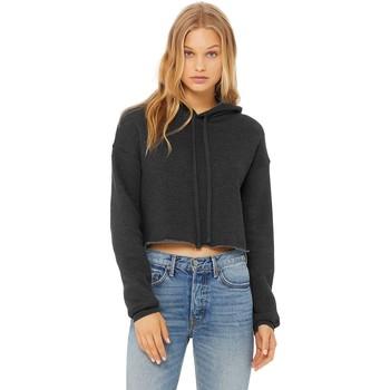Kleidung Damen Sweatshirts Bella + Canvas BE7502 Dunkelgrau meliert