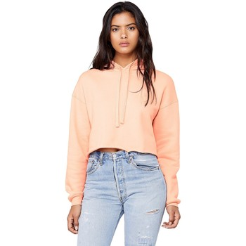 Kleidung Damen Sweatshirts Bella + Canvas BE7502 Pfirisch