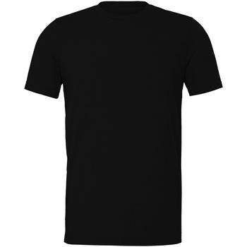 Kleidung T-Shirts Bella + Canvas CV011 Schwarz