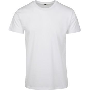 Kleidung Herren T-Shirts Build Your Brand BY090 Weiß