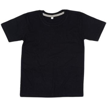 Kleidung Kinder T-Shirts Babybugz BZ090 Schwarz