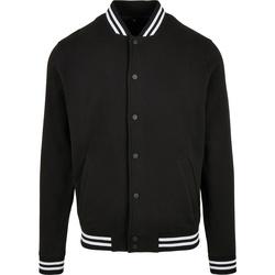 Kleidung Herren Jacken Build Your Brand BB004 Schwarz/Weiß