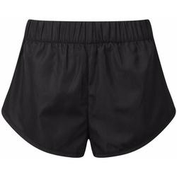 Kleidung Damen Shorts / Bermudas Tridri TR049 Schwarz