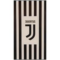 Home Handtuch und Waschlappen Juventus Taille unique Schwarz/Weiß