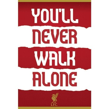 Home Plakate, Posters Liverpool Fc TA5854 Rot/Weiß