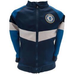 Kleidung Kinder Jacken Chelsea Fc  Marineblau/Blau/Weiß